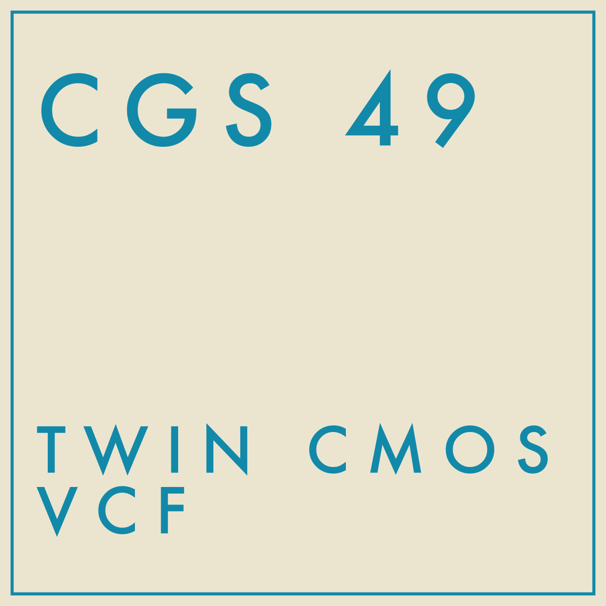 CGS 49 TITLE PAGE